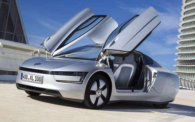 Kevesebb, mint 1 literes fogyasztás 100 kilométeren - A jövő autója Volkswagen módra